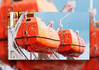 Certificado de Embarcaciones de Supervivencia y Botes de Rescate (No Rápidos)