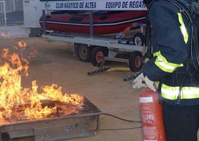 Curso Avanzado Lucha Contra Incendios